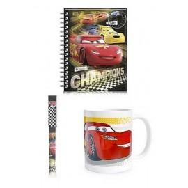 COFFRET MUG CARS3 CARNET STYLO