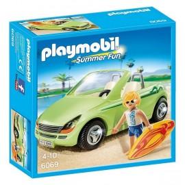 6069 SURFEUR ET VOITURE DECAPOTABLE-jouets-sajou-56