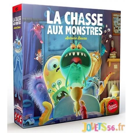 JEU LA CHASSE AUX MONSTRES - Jouets56.fr - Magasins Jouets SAJOU du Morbihan en Bretagne