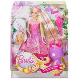 BARBIE PRINCESSE TRESSES MAGIQUES