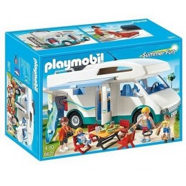 6671 FAMILLE AVEC CAMPING CAR-jouets-sajou-56