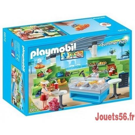 6672 ESPACE BOUTIQUE ET FAST FOOD-jouets-sajou-56
