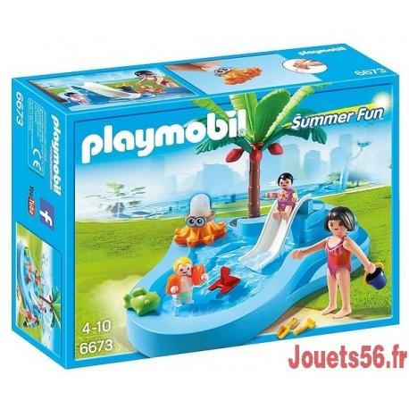 6673 BASSIN POUR BEBES ET MINI TOBOGGAN-jouets-sajou-56