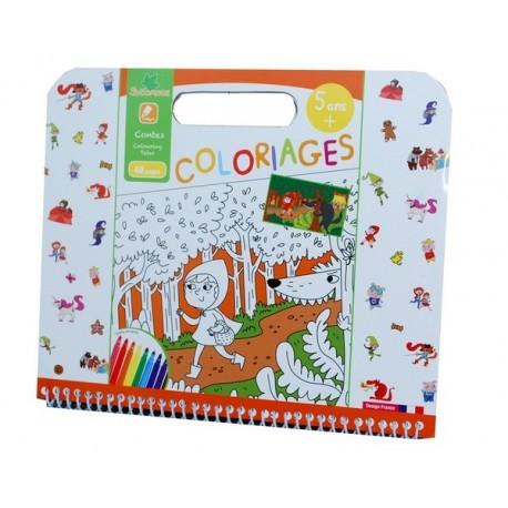 COLORIAGES CONTES 5ANS-jouets-sajou-56