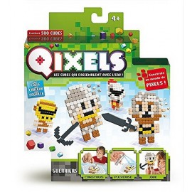 QIXELS KIT THEME GUERRIERS