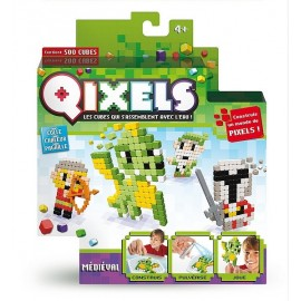 QIXELS KIT THEME MEDIEVAL