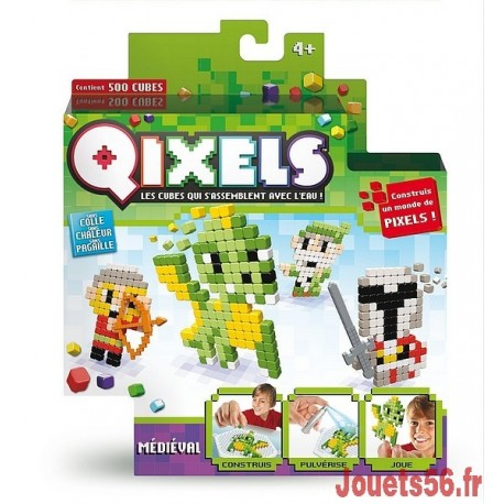 QIXELS KIT THEME MEDIEVAL-jouets-sajou-56