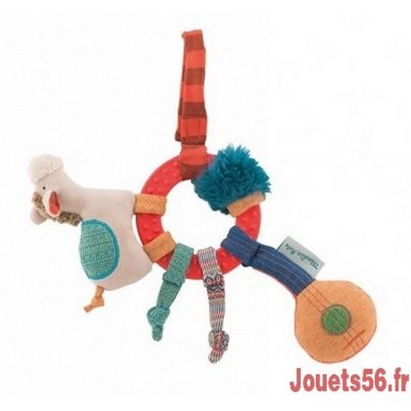 ANNEAU HOCHET EVEIL CHEVAL LES ZIG ZAG-jouets-sajou-56