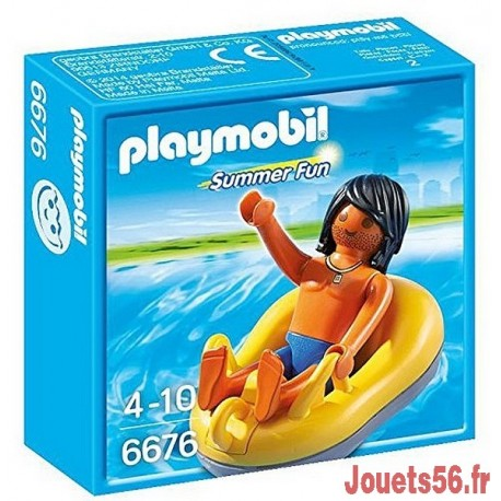 6676 VACANCIER ET BOUEE DE RAFTING-jouets-sajou-56