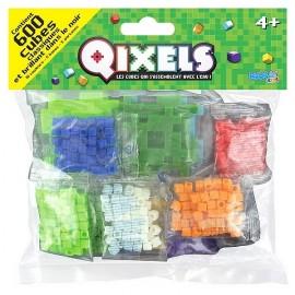 QIXELS SACHET 600 CUBES 10 COULEURS