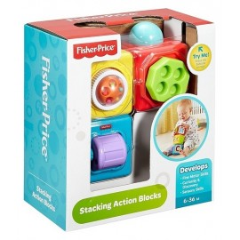 3 CUBES ACTIVITES FISHER PRICE