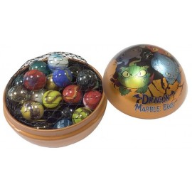 SPHERE DRAGON ET 40 BILLES
