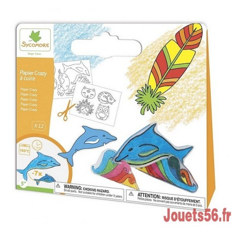 PAPIER FOU A CUIRE MIXTE-jouets-sajou-56