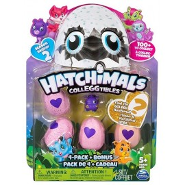 PACK DE 5 HATCHIMALS COLLECTIONNABLES SAISON 2