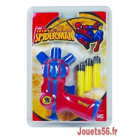 PISTOLET A FLECHES SPIDERMAN-jouets-sajou-56