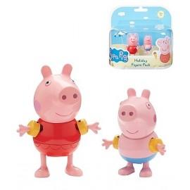 PEPPA PIG EN VACANCES 2 FIGURINES