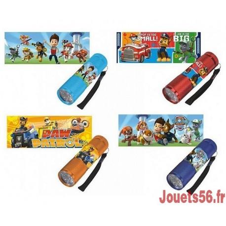 LAMPE TORCHE LED PAW PATROL-jouets-sajou-56