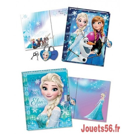 CARNET SECRET 3D FROZEN-jouets-sajou-56