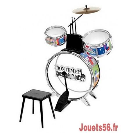 BATTERIE ROCK DRUMMER-jouets-sajou-56