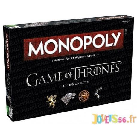 MONOPOLY GAME OF THRONES - Jouets56.fr - Magasins Jouets SAJOU du Morbihan en Bretagne