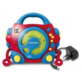 LECTEUR CD AVEC ADAPTATEUR-jouets-sajou-56