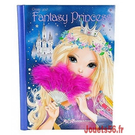 ALBUM COLORIAGE FANTASY PRINCESS-jouets-sajou-56