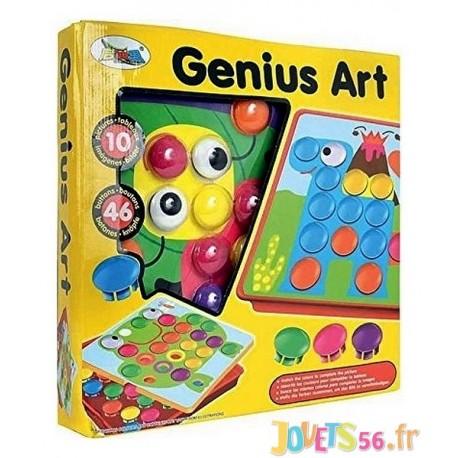 MOSAIQUE JUNIOR GENIUS ART - Jouets56.fr - Magasin jeux et jouets dans Morbihan en Bretagne