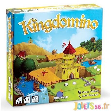 JEU KINGDOMINO - Jouets56.fr - Magasin jeux et jouets dans Morbihan en Bretagne