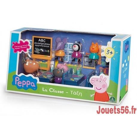 PEPPA PIG SALLE DE CLASSE 7 PERSONNAGES-jouets-sajou-56