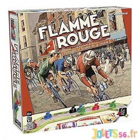 JEU FLAMME ROUGE - Jouets56.fr - Magasin jeux et jouets dans Morbihan en Bretagne