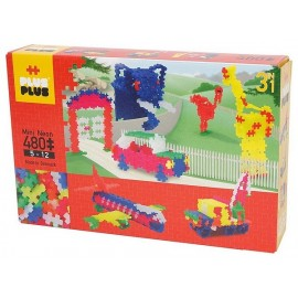 PLUS PLUS BOX MINI NEON 480 PC