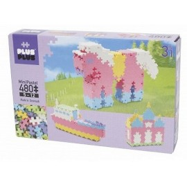 PLUS PLUS BOX MINI PASTEL 480 PC