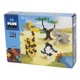 PLUS PLUS BOX MINI BASIC SAVANE 170 PC