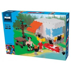 PLUS PLUS BASIC CAMPING 760 PCS