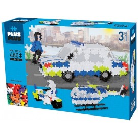 PLUS PLUS BOX BASIC POLICE 480 PCS