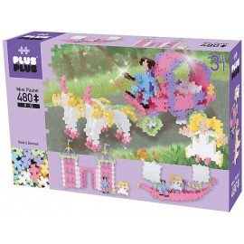 PLUS PLUS BOX PASTEL PRINCESSE  480 PCS