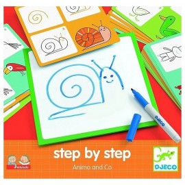 STEP BY STEP ANIMO AND CO DESSINER PAS A PAS